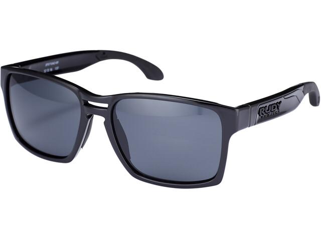 Rudy Project Spinair 57 Okulary przeciwsłoneczne, black gloss - rp optics smoke black